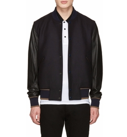 Varsity Bomber Jacket by PS by Paul Smith in Power