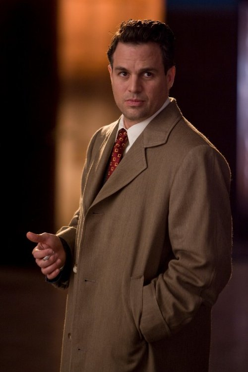 Custom Made Trench Coat (Mark Ruffalo) by Sandy Powell (Costume Designer) in Shutter Island