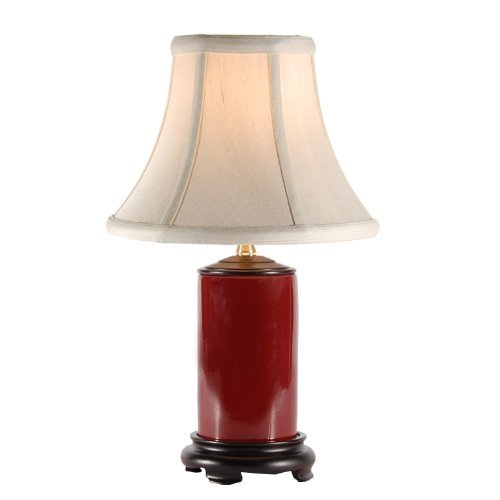 Porcelain Accent Table Lamp by LampStoreOriginals in (500) Days of Summer