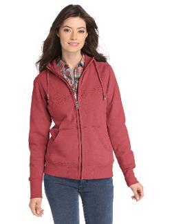Women's Clarksburg Zip Front Sweatshirt by Carhartt in Laggies