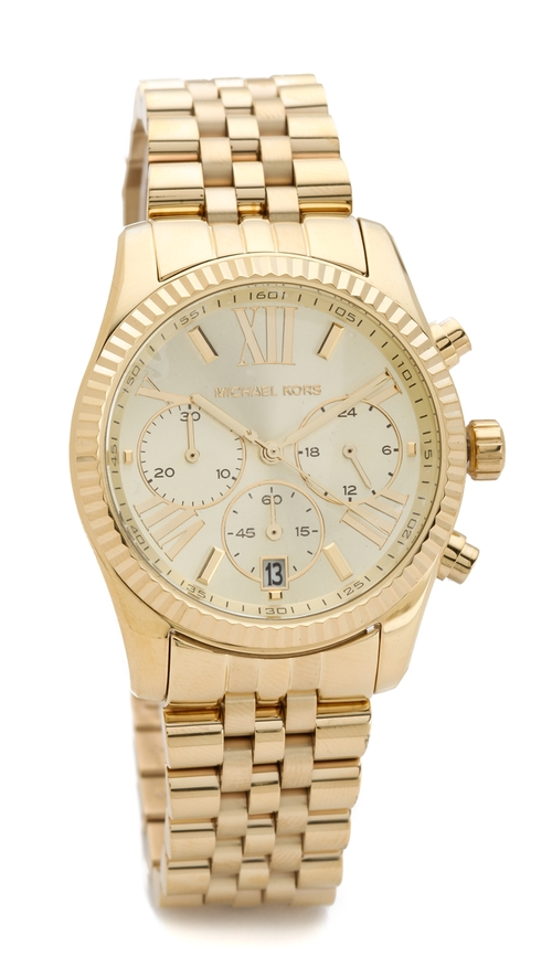Lexington Watch by Michael Kors in Let's Be Cops