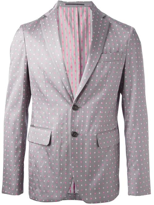 Dotted Blazer by Dsquared2 in Get On Up