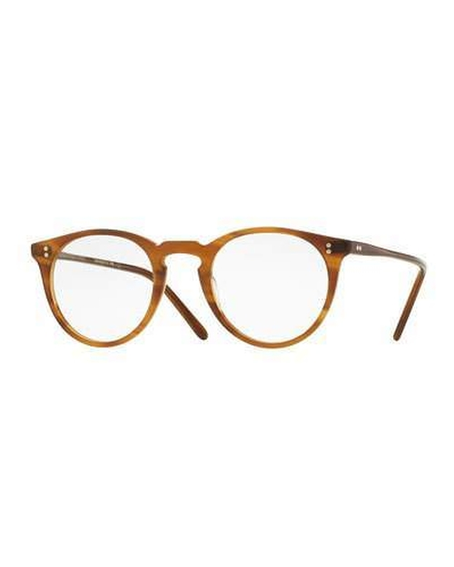 O'Malley Round Optical Frames Eyeglass by Oliver Peoples in Bridget Jones's Baby