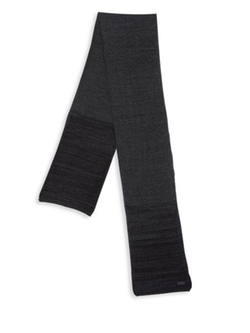 Ombre Knit Wool & Cashmere Scarf by John Varvatos Star USA  in Empire