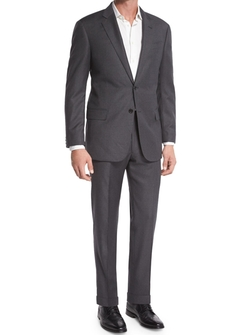 G-Line Windowpane Wool Two-Piece Suit by Armani Collezioni in The Flash