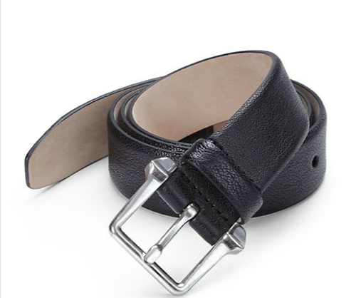 Water Buffalo Leather Belt by Alexander McQueen in The Other Woman