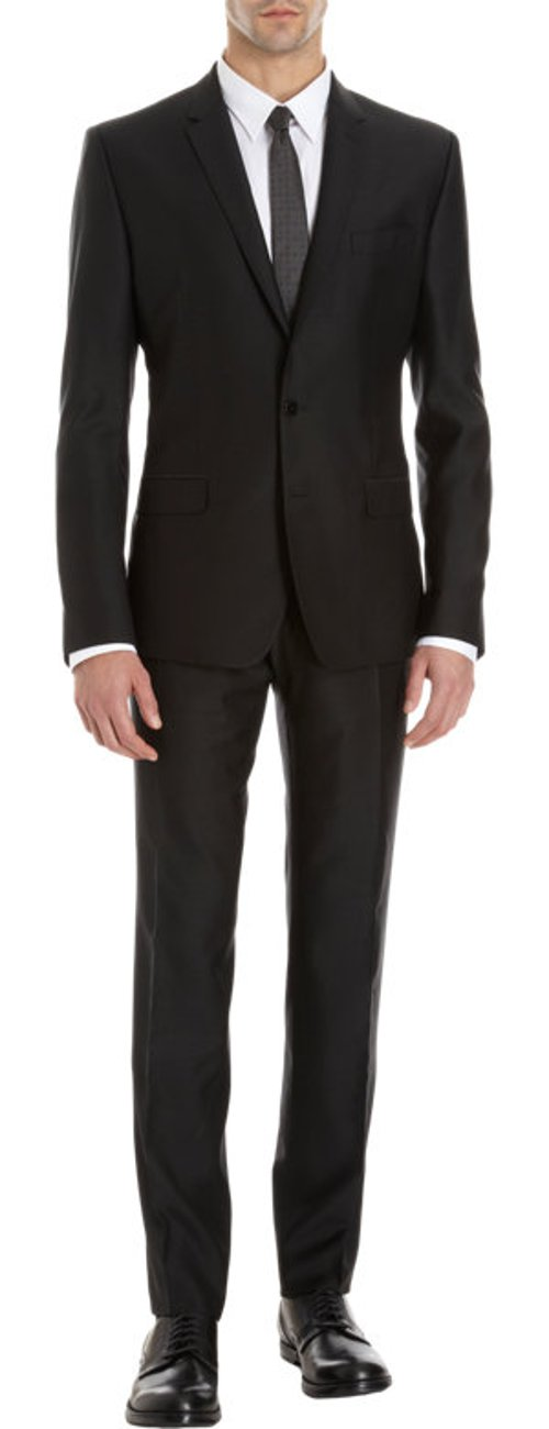Lightweight Sharkskin Suit by Dolce & Gabbana in The Loft