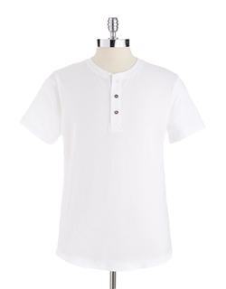 Short-Sleeved Henley Shirt by Alternative in Modern Family