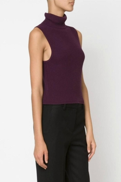 Fitted Sleeveless Turtleneck by Elizabeth & James in The Bachelorette