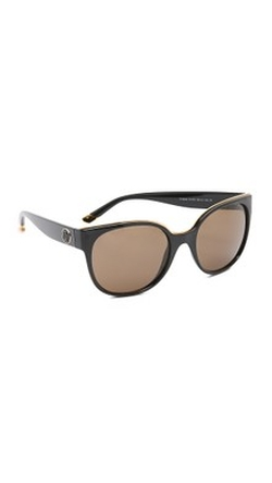 Full Rim Cat Eye Sunglasses by Tory Burch in Elementary
