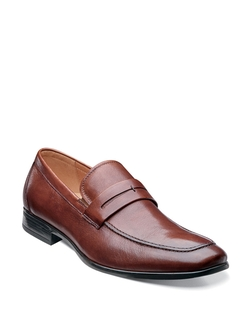 Burbank Leather Penny Loafers by Florsheim in Modern Family