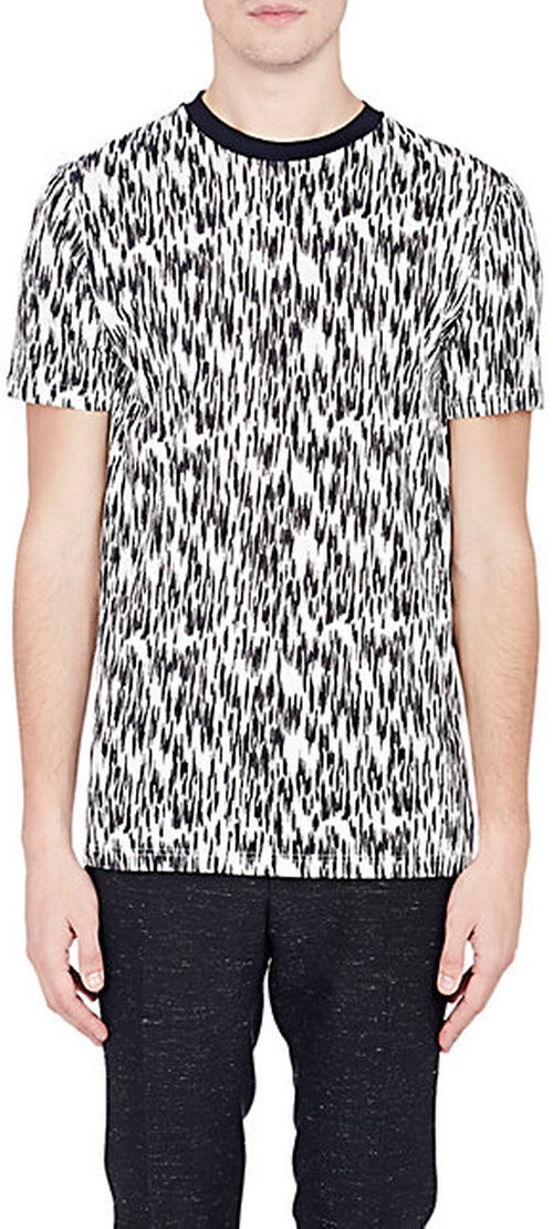 Abstract-Animal-Print T-Shirt by Lanvin in Empire - Season 2 Episode 7