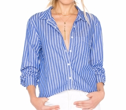 Oxford Shirting Button Up Shirt by Stateside in The Layover
