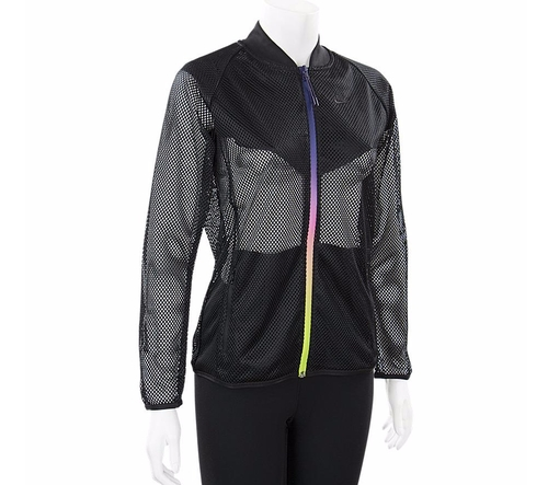 T/F Mesh Bomber Jacket by Nike in Keeping Up With The Kardashians - Season 12 Episode 16