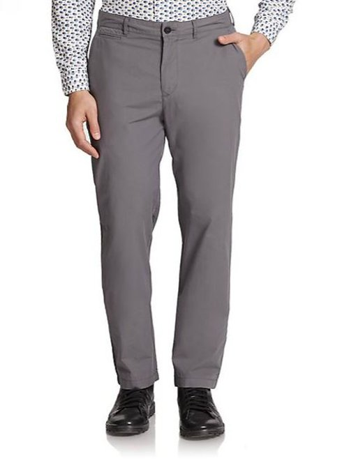 Cotton Chino Pants by Burberry Brit in The Man from U.N.C.L.E.