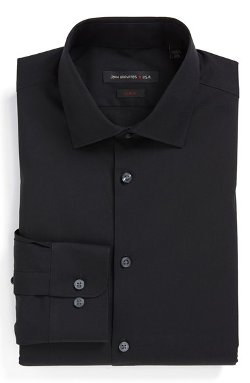 Slim Fit Dress Shirt by John Varvatos Star USA in Pitch Perfect 2