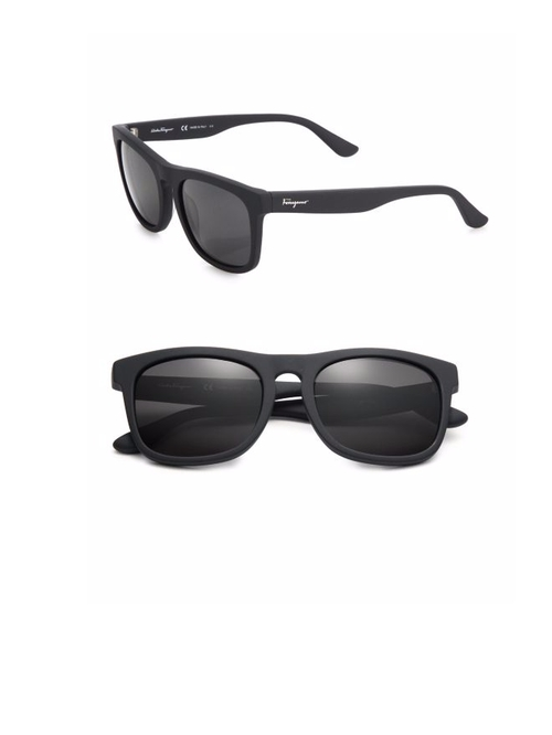 Matte Wayfarer Sunglasses by Salvatore Ferragamo in Flaked - Season 1 Preview