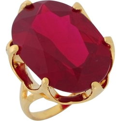 Simulated Ruby Bold Ring by Jewelry Liquidation in Crimson Peak
