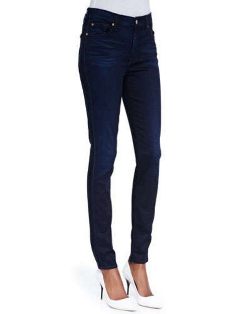 High-Waist Skinny Jeans by 7 For All Mankind in Fantastic Four
