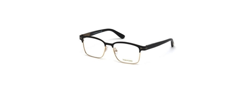 Shiny Metal Square Eyeglasses by Tom Ford in Legend