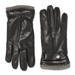 Cashmere Leather Gloves by Knutsford in That Awkward Moment