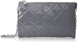 V4 Quilted Patent Cross-Body Bag by Armani Jeans in Keeping Up With The Kardashians