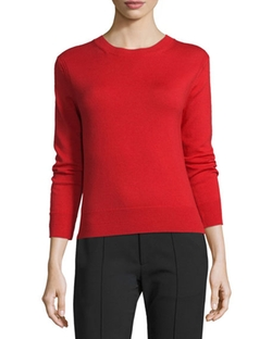 Crewneck Button-Back Sweater by Marc Jacobs in Why Him?