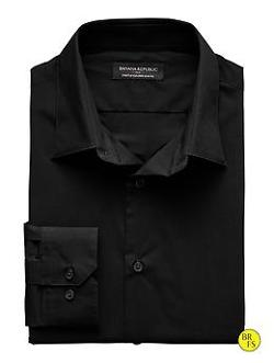 Factory Tailored Slim-Fit Stretch Cotton Shirt by Banana Republic in Dawn of the Planet of the Apes