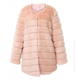 Luxe Glam Faux Mink Fur Coat by Storets in Scream Queens