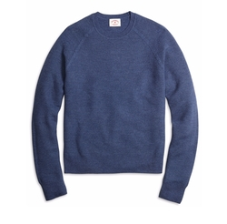 Honeycomb Crewneck Sweater by Brooks Brothers in Silicon Valley
