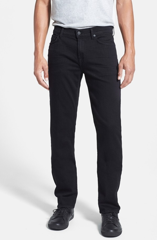Slim Straight Leg Jeans by 7 For All Mankind in The Visit