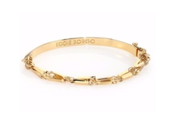 Peaked Chain Cuff Bracelet by Eddie Borgo in New Girl