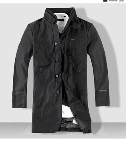 Standing Collar Coat by G-Star Raw in Twilight