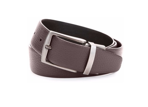 Grained Leather Belt by Giorgio Armani in Rosewood - Season 2 Episode 5