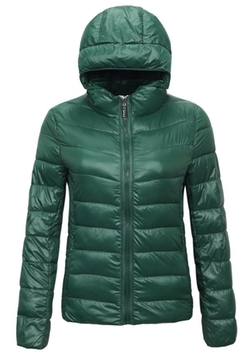 Lightweight Padded Jacket by Yi Lai Mei in Whiskey Tango Foxtrot