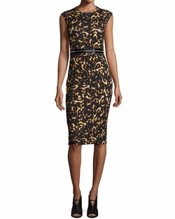 Printed Bodycon Zip Dress by Alexander McQueen in The Good Fight