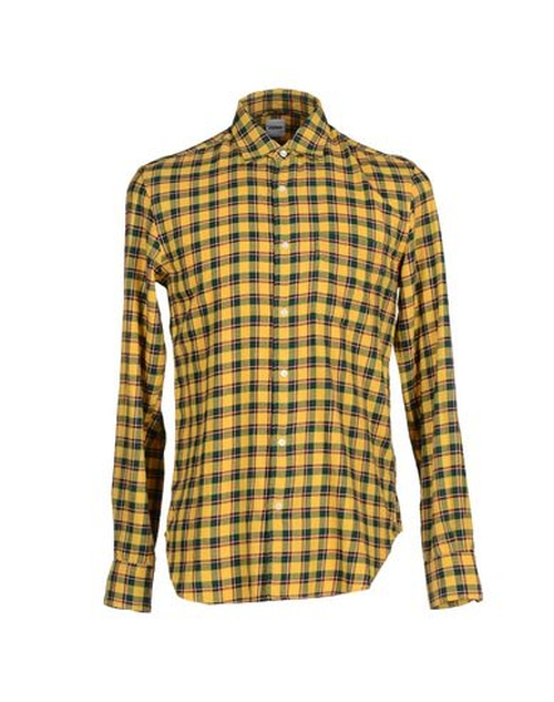 Plaid Button Down Shirt by Aspesi in Master of None