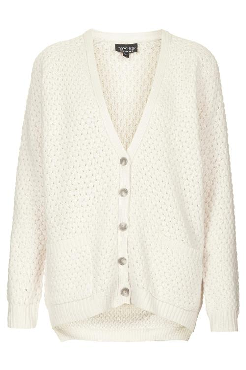 Bobble Cardigan by Top Shop in And So It Goes