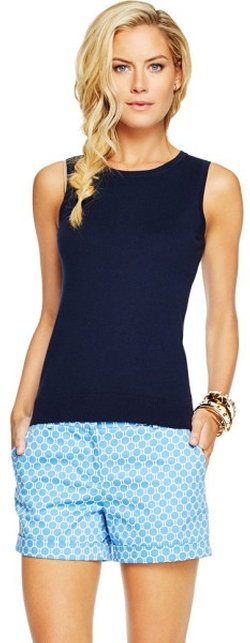 Navy Blue Vest by C. Wonder in Pitch Perfect 2