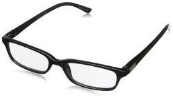 Men's Eli Rectangular Reading Glasses by Foster Grant in Gone Girl