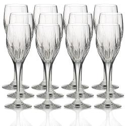 Crystal Wine Glasses by Arctic Lights in The Expendables 3