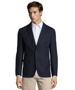 Cotton Blend Two Button Blazer by Armani in The Flash