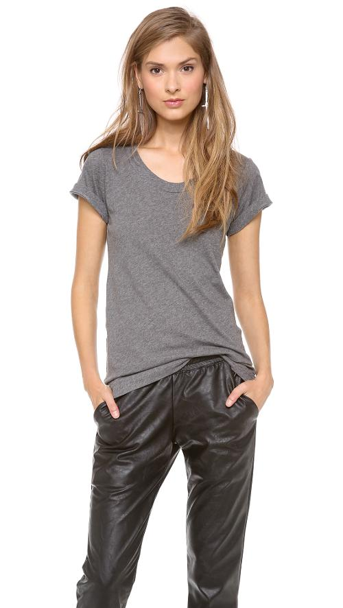 Crew Neck T-Shirt by LNA in Gone Girl