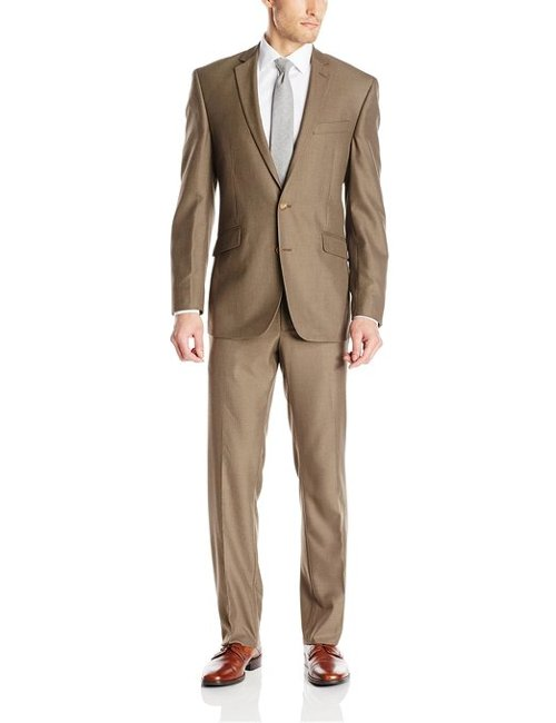 Pin Dot Button Notch Lapel Suit by Kenneth Cole Reaction in Cinderella