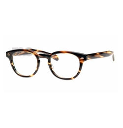 Sheldrake Cocobolo Glasses by Oliver Peoples in New Girl