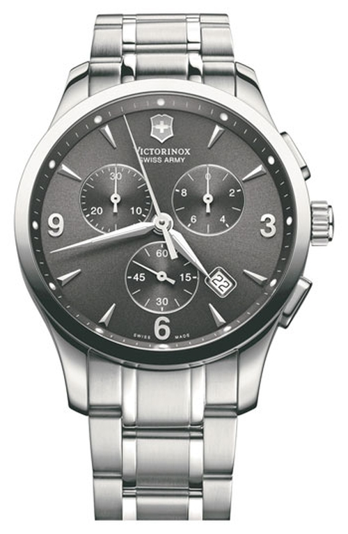 'Alliance Chrono' Large Bracelet Watch by Victorinox Swiss Army in Suits - Season 5 Episode 1