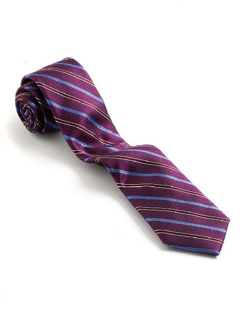 Striped Tie by BLACK BROWN 1826 in The Wolf of Wall Street