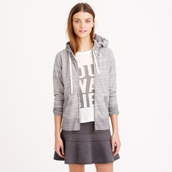Weekend Zip Hoodie by J. Crew in 99 Homes
