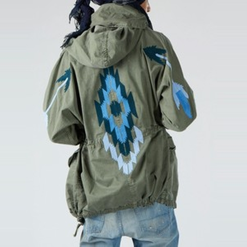 East at Dawn Hooded Parka by NSF Clothing in Keeping Up With The Kardashians - Season 11 Episode 9