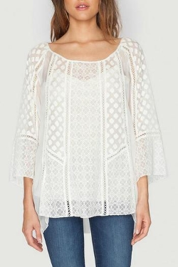 Maude Vintage-Inspired Blouse by Je T'aime Nolaje in Before I Wake